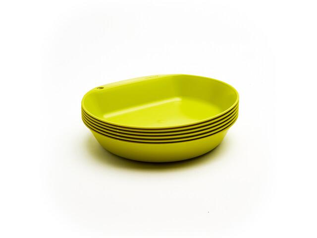 Wildo Camper Plate Deep Set Unicolor 6x lime